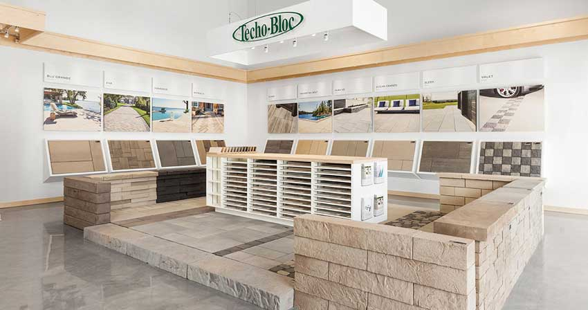 Techo Bloc Dealer Office
