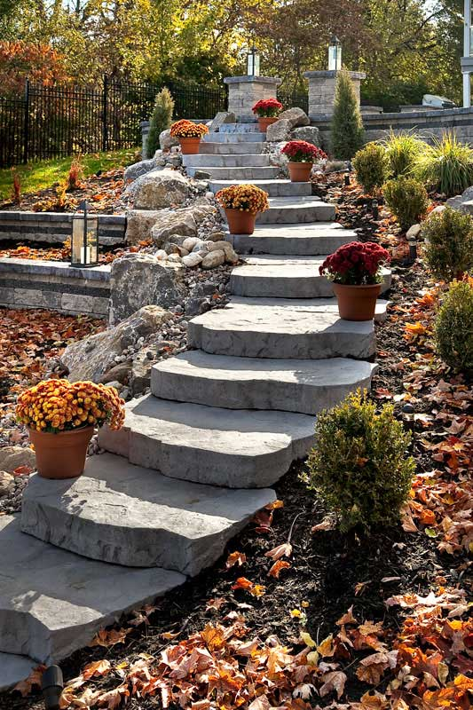 Steep slope to multi level living | Techo-Bloc