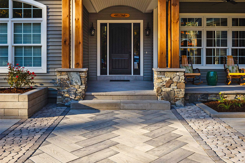 Custom Designs Are Made Possible With Pavers Of All Shapes, Sizes, Colors  And Textures And ...