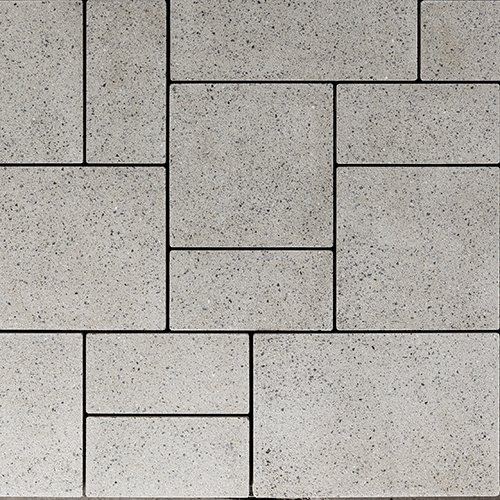 Blu Random Paver Slab Polished Greyed Nickel