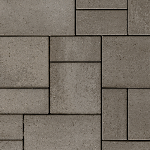 Blu Random Paver Slab Smooth Shale Grey