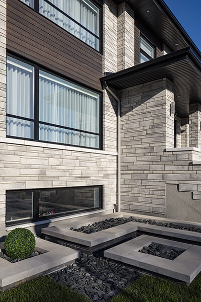 brique et erre moderne Iconic brick and stone modern 01064 05 137