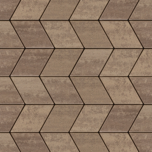 Diamond Granitex HD2 Paver in Chesnut Brown color