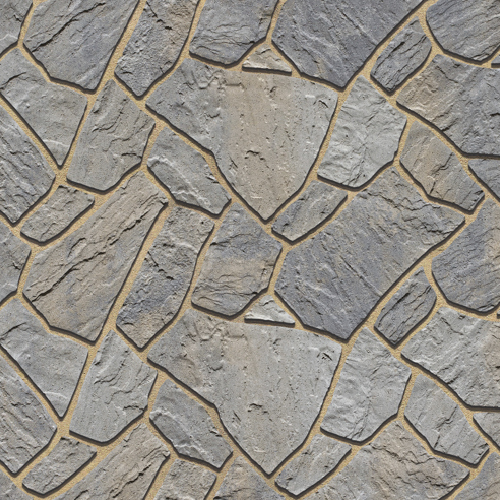 Flagstone Patio Slabs Champlain Grey Color