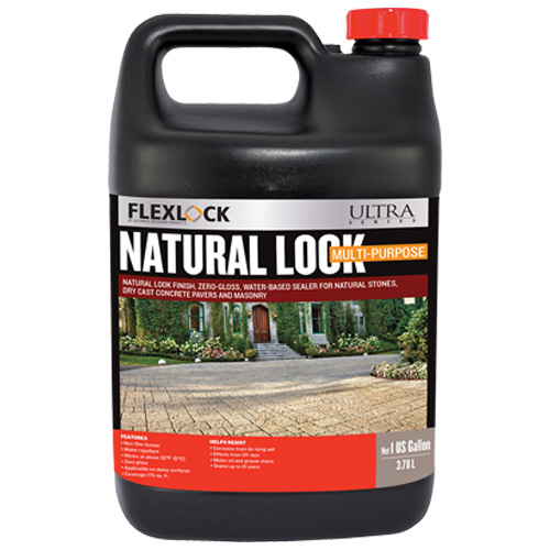 Flexlock Scellant aspect Naturel à base d'eau 1 GAL