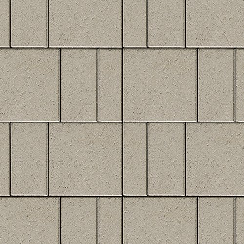 Industria 300 Paver Smooth Greyed Nickel