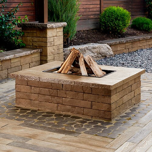 Fire Pits And Outdoor Kitchens Techo Bloc