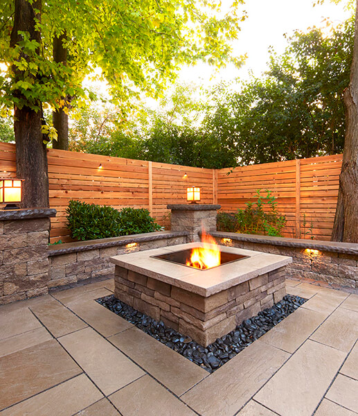 Prescott Fire Pits And Outdoor Kitchens Techo Bloc