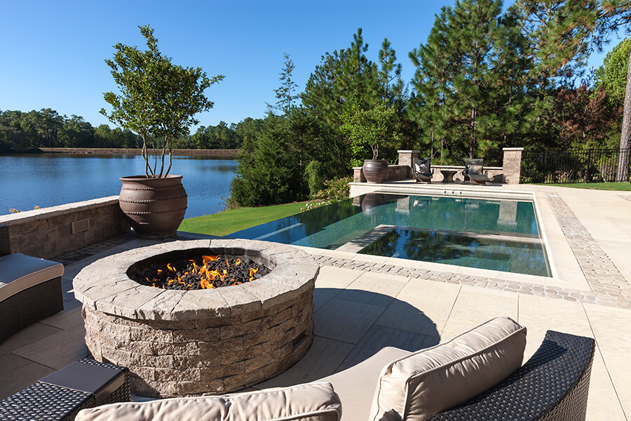 Valencia Fire Pits And Outdoor Kitchens Techo Bloc