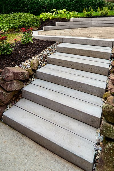 outdoor steps and stairs Borealis Step marches extérieurs A00413 09 0145