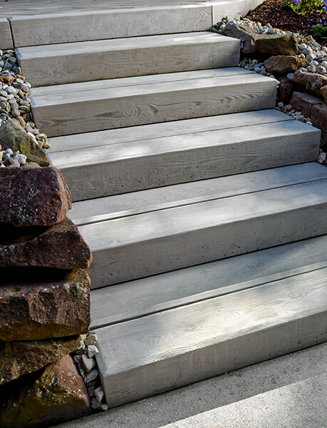 outdoor steps and stairs Borealis Step marches extérieurs A00413 09 0366