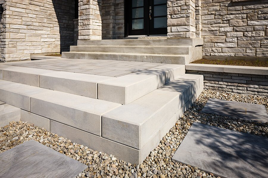 outdoor steps and stairs Raffinato Step marches extérieurs 01039 05 045