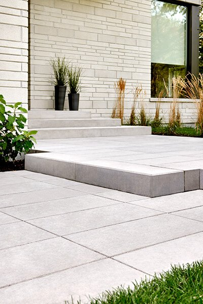 outdoor steps and stairs Raffinato Step marches extérieurs 01077 1477