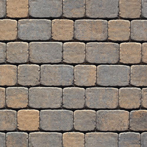 Parisien Square Rectangle Paver Sandalwood