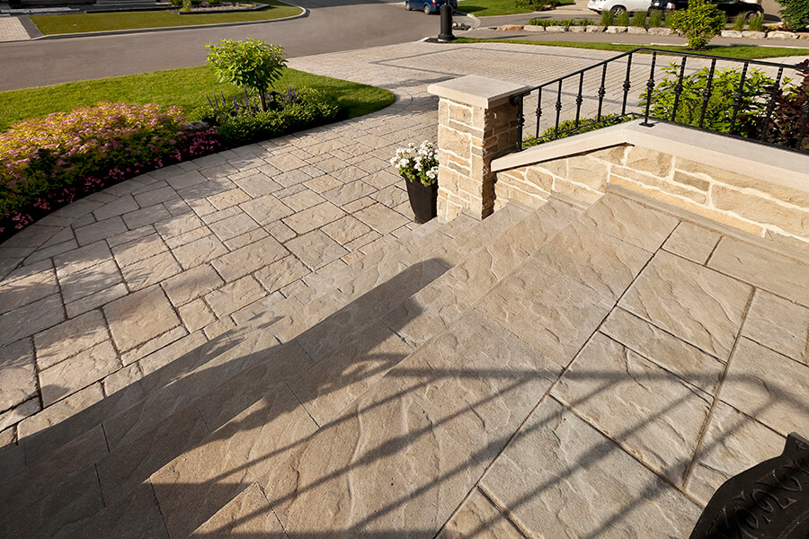 patio paver slabs Blu 45 slate dalle de patio 00983 01 6659