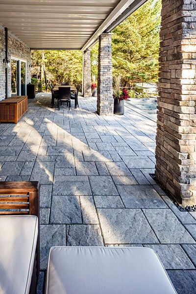 patio paver slabs Blu 45 slate dalle de patio A00430 05 718
