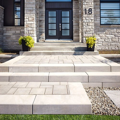 patio paver slabs Blu 45 Smooth dalle de patio 01039 05 010