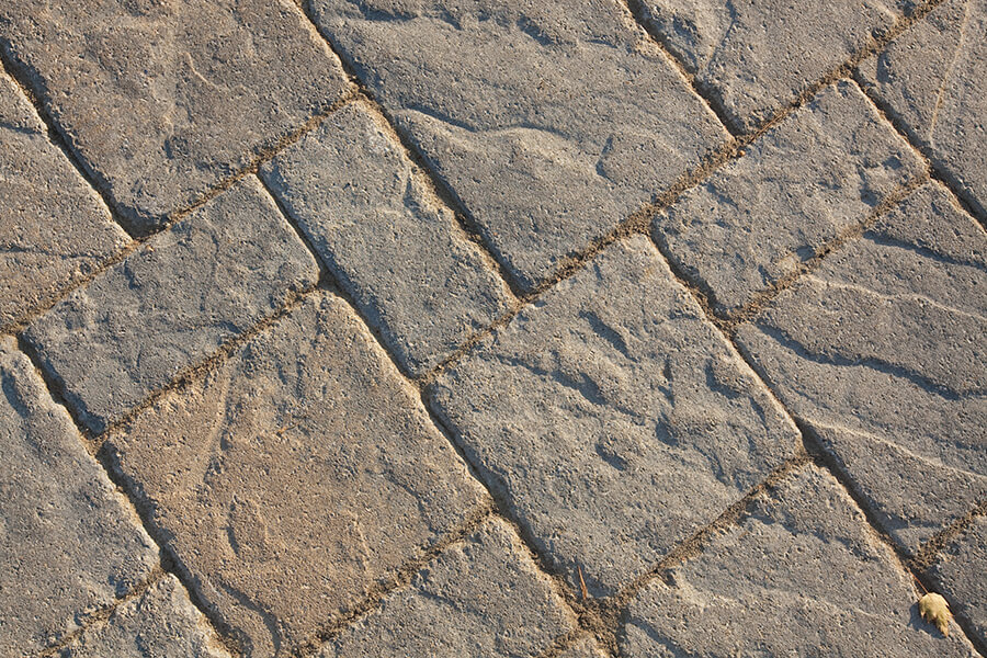patio paver slabs Blu 60 Slate Aged dalle de patio 00686 4419