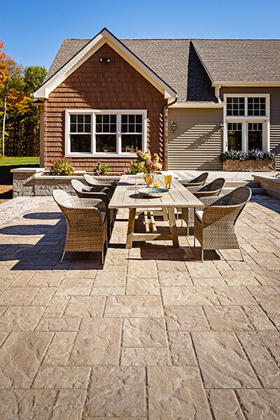 patio paver slabs Blu 60 Slate dalle de patio A00412 05 228