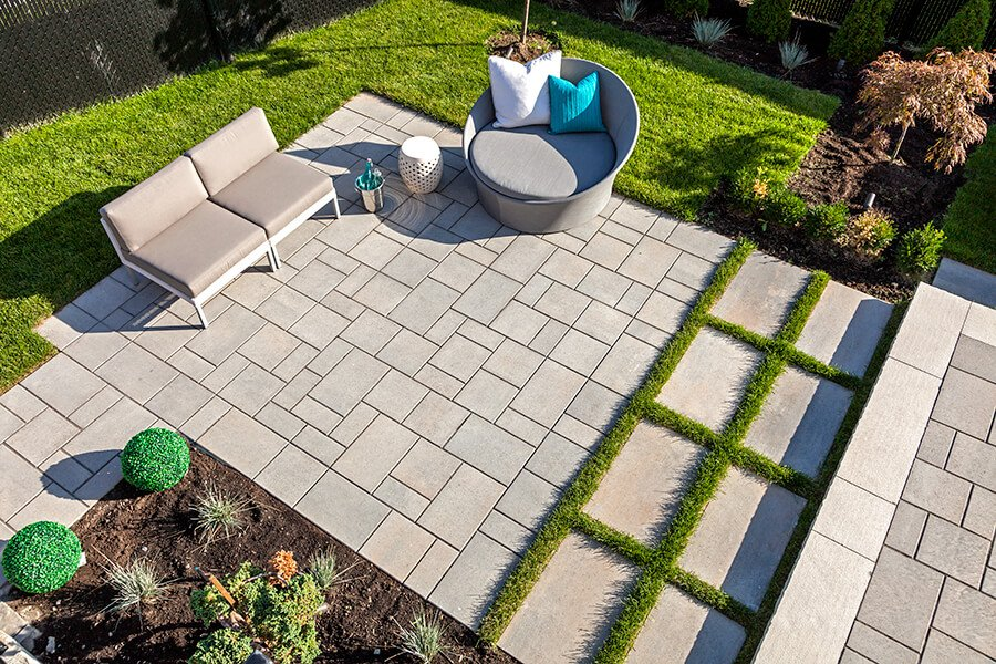 patio paver slabs Blu 60 Smooth dalle de patio 01017 01 8672