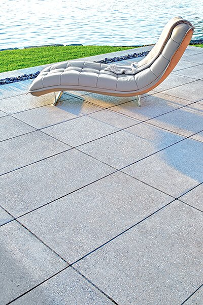 patio paver slabs Blu Grande Polished dalle de patio 01036 09 0508