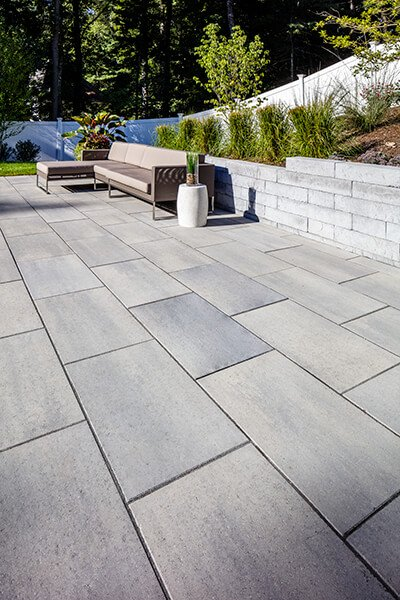 patio paver slabs Blu Grande Smooth dalle de patio A00424 05 067