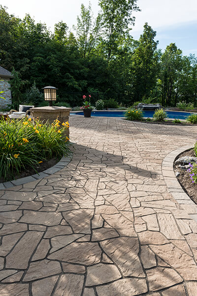 patio paver slabs Flagstone dalle de patio 00917 02 9321