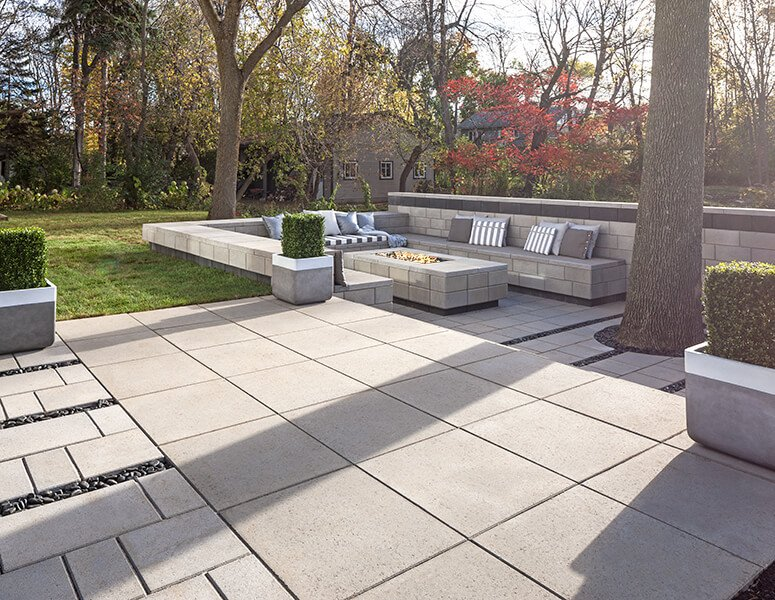 patio paver slabs Industria Smooth Slabs dalle de patio 01015 05 294