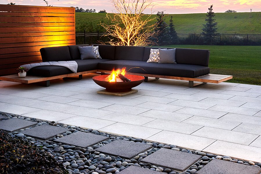 patio paver slabs Industria Smooth Slabs dalle de patio 01078 2233