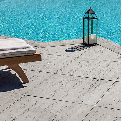 patio paver slabs Travertina Raw HD² dalle de patio 00997 01 2387