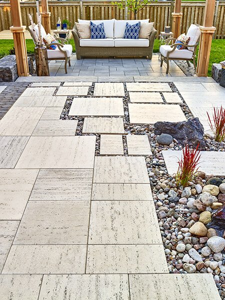 patio paver slabs Travertina Raw HD² dalle de patio 01014 09 0183 2
