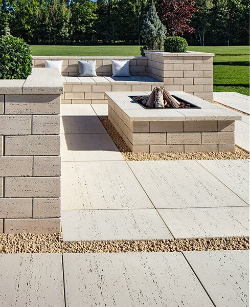 patio paver slabs Travertina Raw HD² dalle de patio 01062 05 365 V2