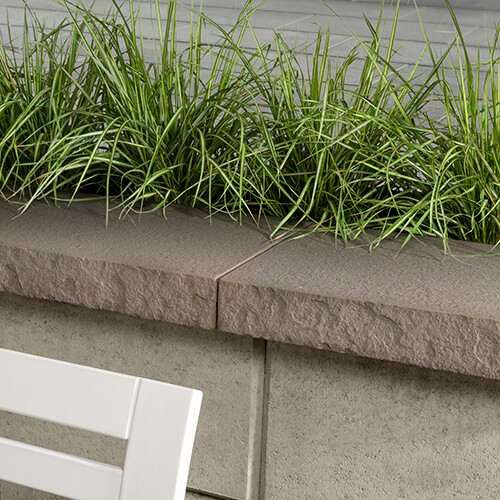 Piedmonte cap 12x30 Rock Garden Brown 9462