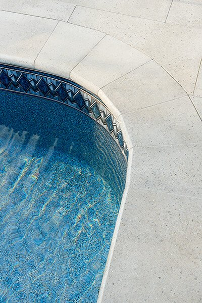 pool coping Bullnose Grande couronnement de piscine 01079 2519