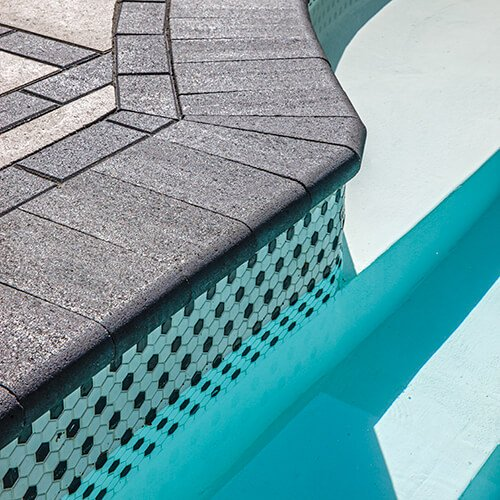 pool coping Bullnose Smooth couronnement de piscine 01011 05 137