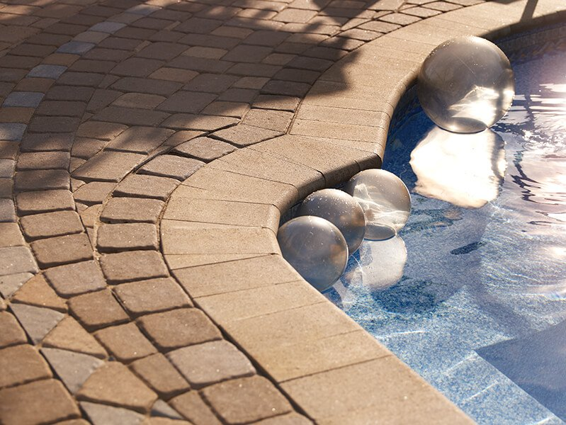 pool coping Bullnose Smooth couronnement de piscine A00324 07 052