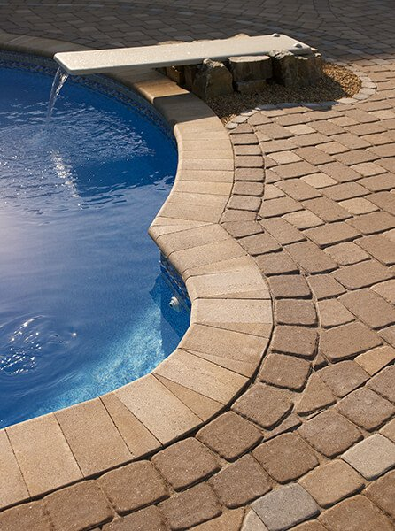 pool coping Bullnose Smooth couronnement de piscine A00324 07 065