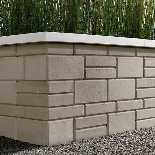 Raffinato Wall Smooth Greyed Nickel