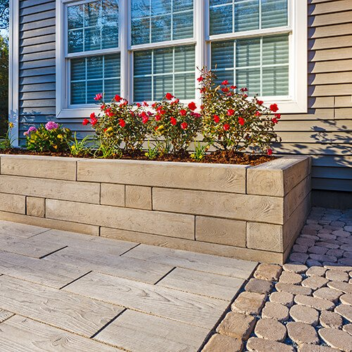 retaining wall blocks Borealis Wall muret A00412 05 003